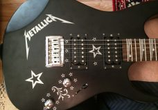 Наклейки на гитару
