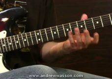 Игра на гитаре — египетская гамма