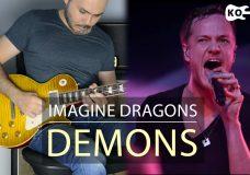 Imagine Dragons — Demons — Electric Guitar Cover by Kfir Ochaion