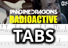 Imagine Dragons — Radioactive — Electric Guitar Cover by Kfir Ochaion — TABS