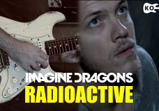 Imagine Dragons — Radioactive — Electric Guitar Cover by Kfir Ochaion