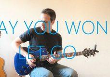 James Arthur — Say You Won't Let Go — Electric Guitar Cover