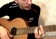 Как играть на гитаре Корабли поминанья — Алихан Амхадов (табы, текст, аккорды — видеоурок)
