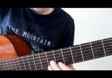 Как играть на гитаре The Beatles — Michelle, разбор очень красивой песни на гитаре