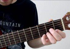 Как играть на гитаре мелодию из Профессионала, разбор на гитаре Ennio Morricone - Chi Mai
