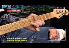Как играть на гитаре в стиле Jason Becker