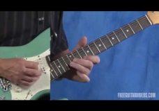 Как играть на гитаре в стиле Stevie Ray Vaughan