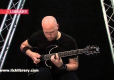 Как играть соло в стиле Paul Gilbert