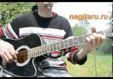 Красивая и простая мелодия на гитаре (фрагмент) — Металлика — Разбор