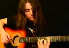 Красивая мелодия на гитаре. Гитаристам. Песня.