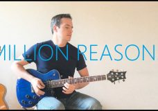 Lady Gaga — Million Reasons — Electric Guitar Cover