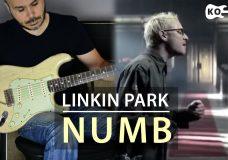 Linkin Park — Numb — Electric Guitar Cover by Kfir Ochaion