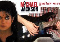 Michael Jackson guitar medley 4 hits
