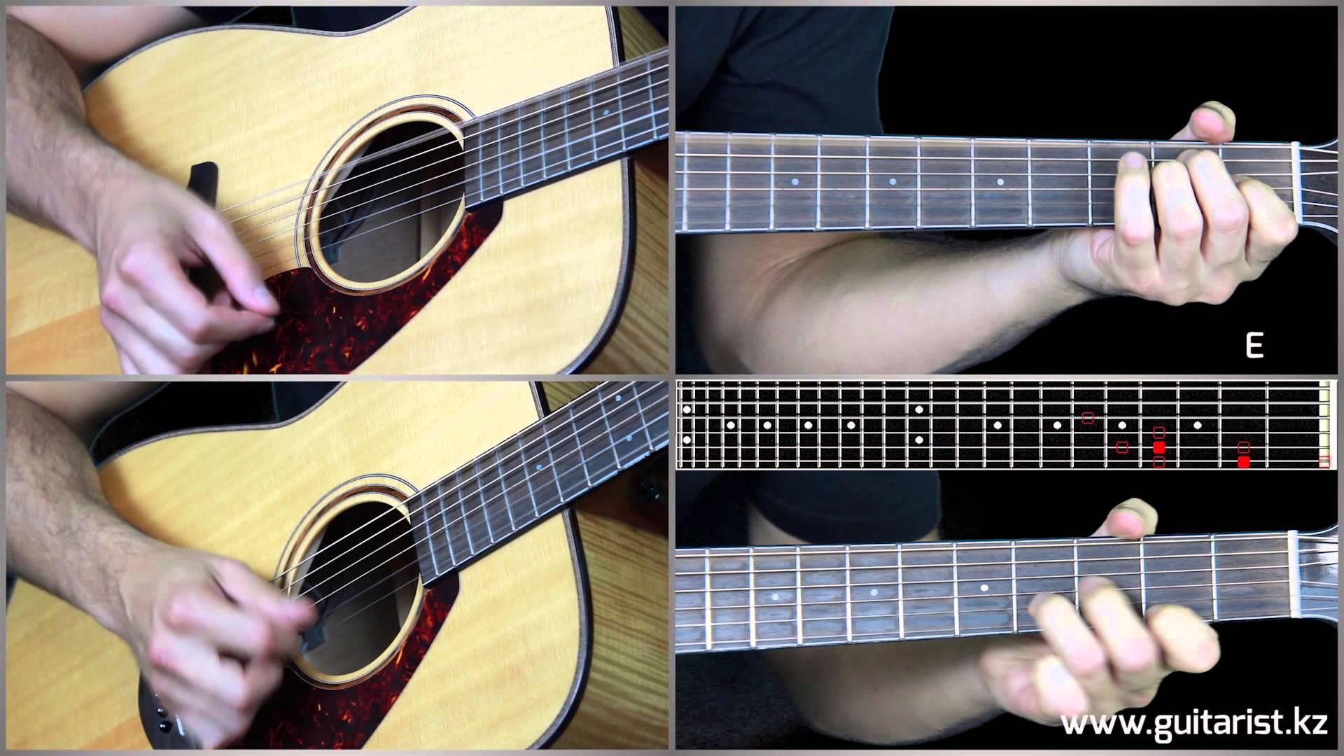 Michel Tel - Ai Se Eu Te Pego guitar lesson (Уроки игры на гитаре Guitarist.kz)