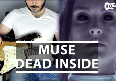 Muse — Dead Inside — Electric Guitar Cover by Kfir Ochaion