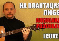 На плантациях любви — Александр Розенбаум (cover)