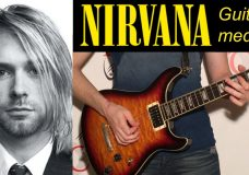 Nirvana guitar medley — David Calabrs