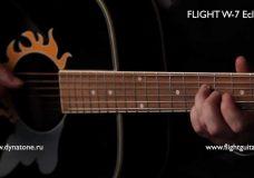 Обзор акустической гитары FLIGHT Review of acoustic guitar
