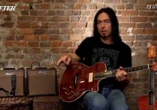 Обзор гитар Crafter от Деймона Джонсона Гибридная гитара (SAT серия)