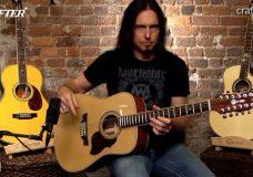 Обзор типов гитар Crafter от Деймона Джонсона 12-струнная гитара