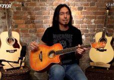 Обзор типов гитар Crafter от Деймона Джонсона Трэвел гитара