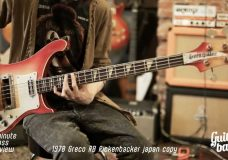 One Minute Bass Review 1978 Japan Greco RB
