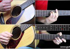 Пикник — Глаза очерчены углем (Уроки игры на гитаре Guitarist.kz)