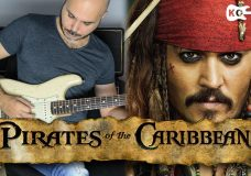 Pirates of the Caribbean Theme — Electric Guitar Cover by Kfir Ochaion
