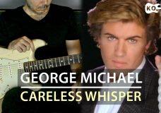 RIP George Michael - Careless Whisper - Electric Guitar Cover by Kfir Ochaion