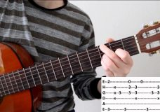 Разбор офигенной песни для игры на гитаре в стиле фингерстайл