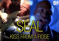 Seal — Kiss from a Rose — Electric Guitar Cover by Kfir Ochaion