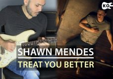 Shawn Mendes — Treat You Better — Electric Guitar Cover by Kfir Ochaion
