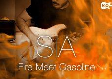 Sia — Fire Meet Gasoline — Electric Guitar Cover by Kfir Ochaion
