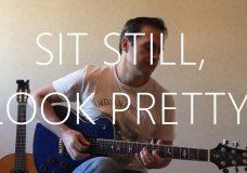 Sit Still, Look Pretty — Electric Guitar cover — Daya