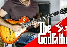 Slash — The Godfather Theme — Electric Guitar Cover by Kfir Ochaion