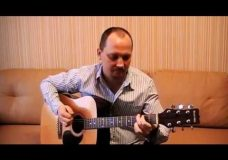 Спокойная ночь — Виктор Цой (cover-версия на гитаре)