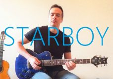 Starboy ft. Daft Punk — Electric Guitar Cover — The Weeknd