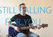 Still Falling For You — Electric Guitar Cover — Ellie Goulding (Bridget Jone's Baby)