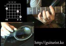 Sting — Shape of my heart (Уроки игры на гитаре Guitarist.kz)