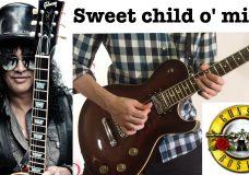 Sweet child o' mine — Guns n Roses guitar cover (instrumental)