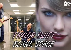 Taylor Swift — Blank Space — Electric Guitar Cover by Kfir Ochaion