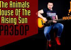 The Animals — The House of the Rising Sun. Как научиться играть на гитареРазбор Урок Аккорды