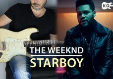 The Weeknd — Starboy ft. Daft Punk — Electric Guitar Cover by Kfir Ochaion