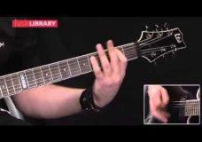 Учимся играть песню Metallica- Harvester Of Sorrow