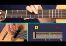 Урок гитары (для новичков) — The Entertainer