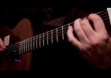 Урок гитары (фингерстайл) All Of Me — John Legend