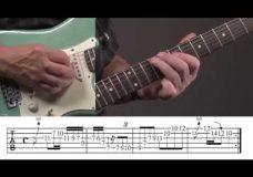Урок гитары как играть в стиле David Gilmour