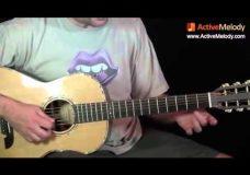 Урок гитары медленный блюз