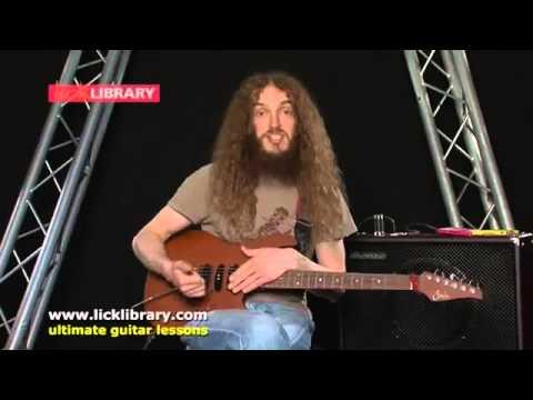Урок гитары от Guthrie Govan слэп на гитаре