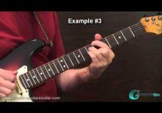 Урок гитары последовательности аккордов (теория)